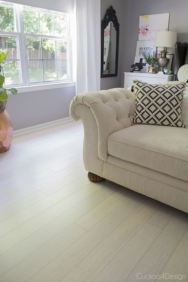 Pearl City Click Bamboo - revealing my new floor - Cuckoo4Design