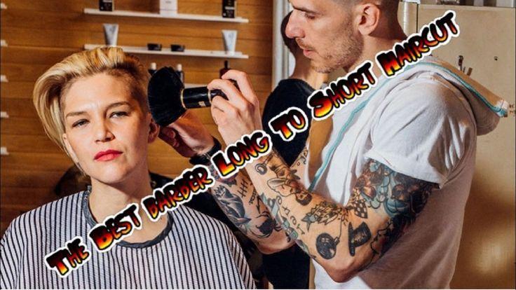 The Best barber Long To Short Haircut full video : Tutorial Haircute