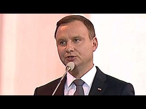 """Mega mocne przemówienie prezydenta Dudy na pogrzebie """"Inki"""" i """"Zagończyk..."""