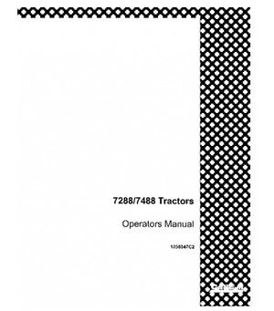 CASE IH 7288 7488 TRACTOR OPERATORS MANUAL DOWNLOAD