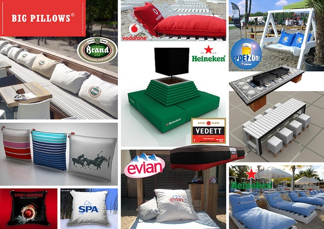 Big Pillows Promotie kussens