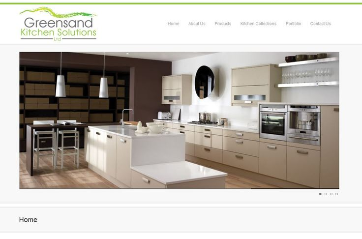 Greensand Kitchen Solutions chose a Freestart Premier Smart site to showcase their home improvements