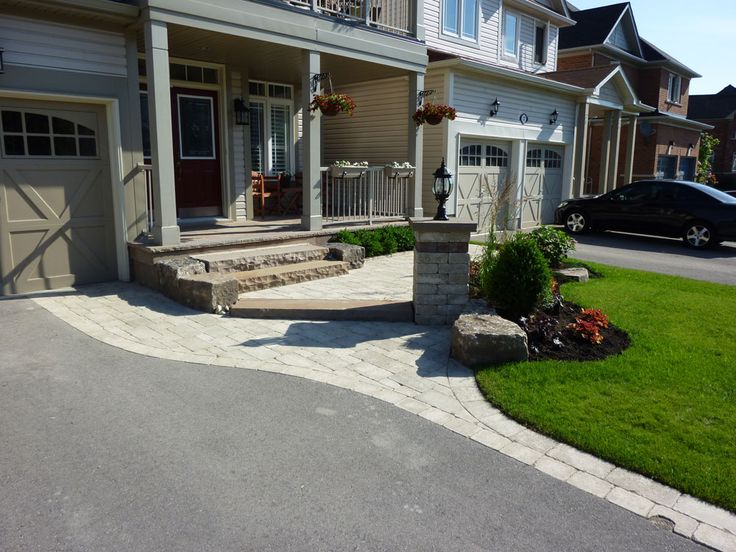 Best 25 asphalt driveway ideas on pinterest asphalt for Front yard landscaping cost