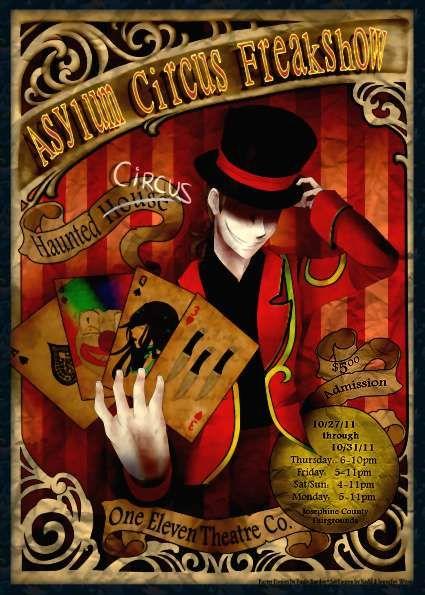 fortune teller cartel  haunted circus