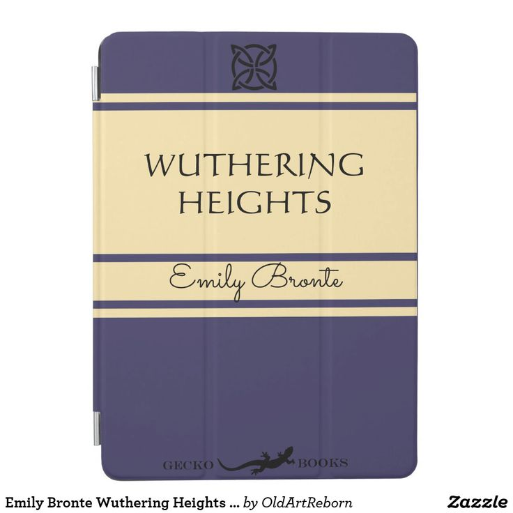 Emily Bronte Wuthering Heights Vintage Style Book iPad Air Cover