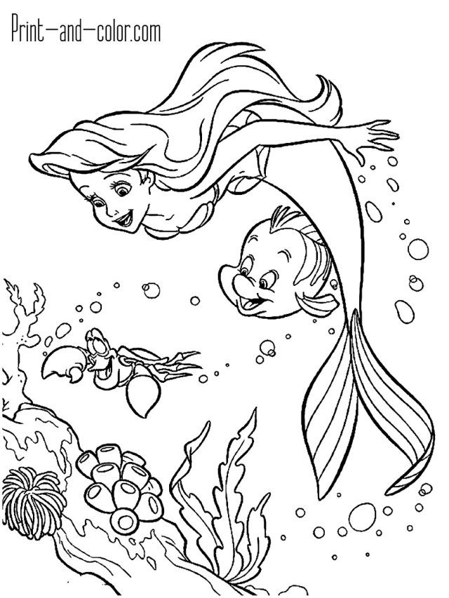 30 Wonderful Photo Of Little Mermaid Coloring Pages Albanysi