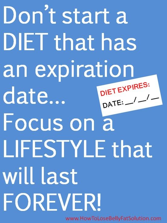 What is a sentence with the word diet in it?