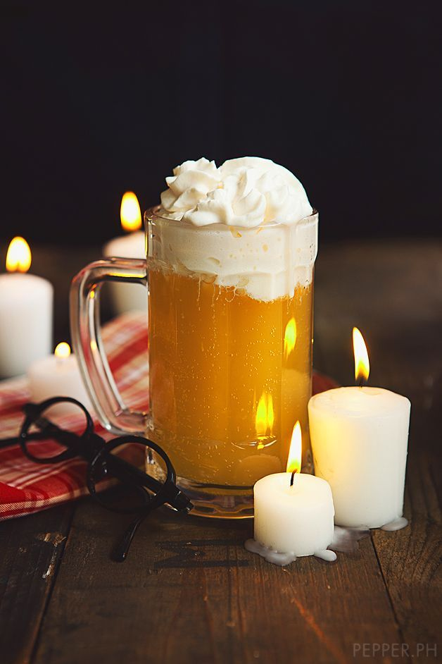 Butter Beer Recipe - famous harry potter drink recipe!