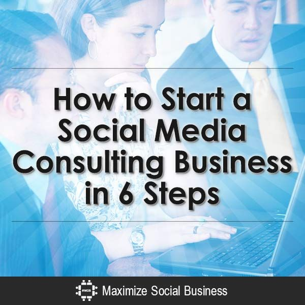 For social media consultants : How to start a business in social media consulting and find initial clients? This blog post shows you how to do this in 6 steps.