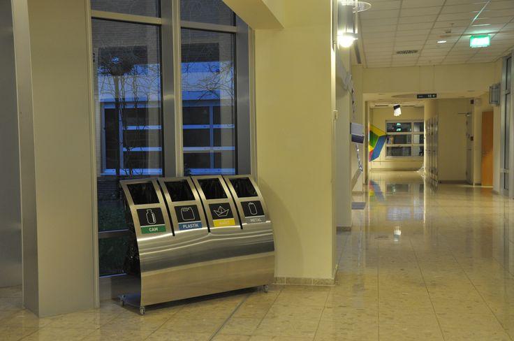 Greenbin @ #SabanciUniversity  Designed by #yaseminartutds. Found on greenbin.com.tr