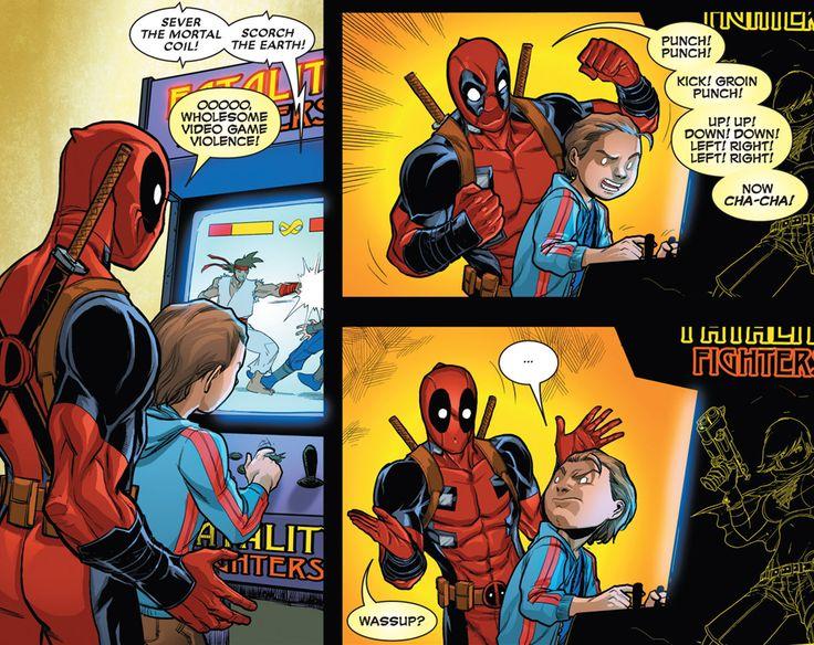 Apr 2018. Spider-man and Deadpool Rescued- Superheros Blowjob Cock and Cum Shot.