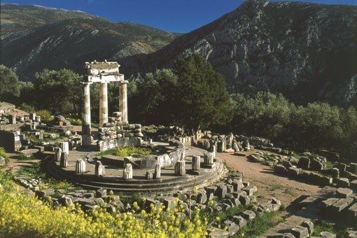 Delphi !!! Feel the presence of the ancient oracle all around you and take in the fact that ancient kings and rulers have stood in those exact spots! The ancient Greeks regarded Delphi as the center of the world. When you go now make sure to check out the Temple of Apollo and the stunning view from the Stadium.