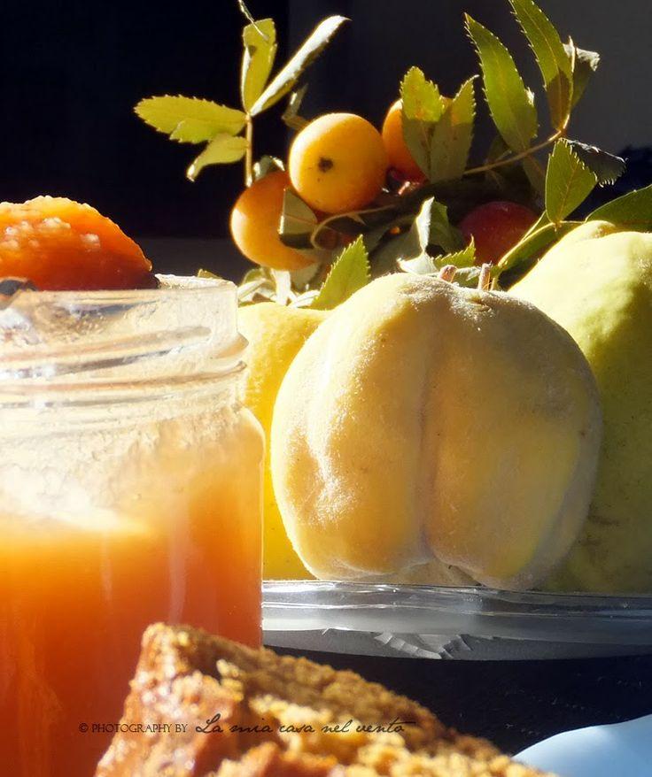 Marmellata di mele cotogne  {In questi giorni...}