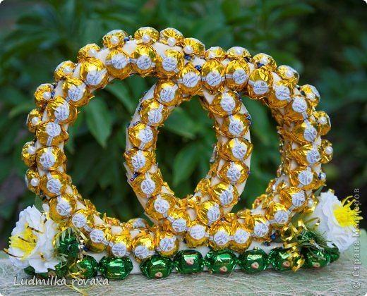 Сладкие обручальные кольца   Автор: Ludmilka_rovaxa