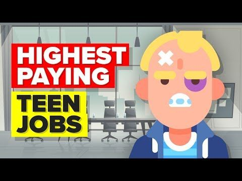 11 Highest Paying Teen Jobs - YouTube How To Adult Jobs for