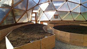 Serres Dômes, serre polycarbonate, serre bois: Serres domes, pour jardiner été comme hiver