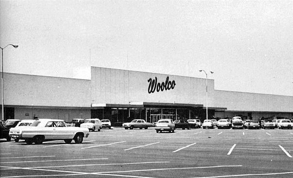 The First Woolco, a division of the FW Woolworth company, opened on June 6 1962 at Great Southern Shopping Center 3747 S. High Street. The chain would grow to 456 stores in the US and Canada. The 336 US stores closed in 1982, the remaining Canadian stores were sold in 1994 to Wal-Mart.