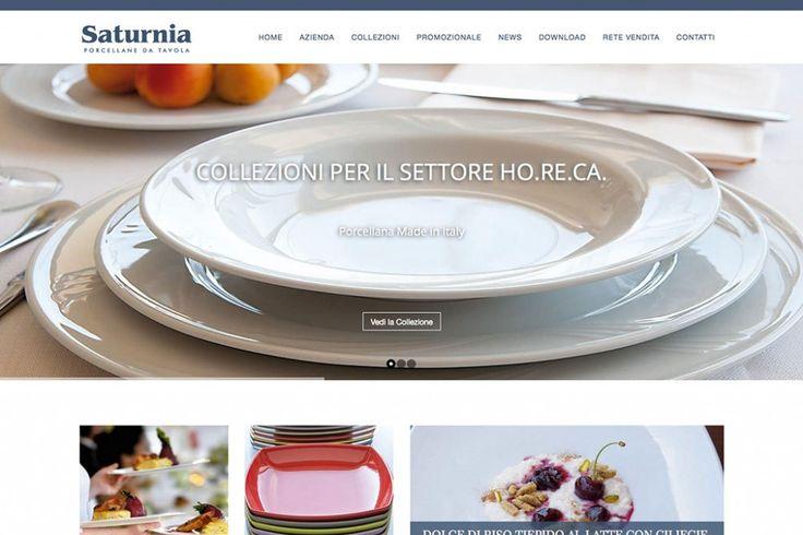 Sito web Saturnia Porcellane