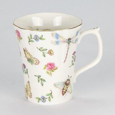 details about new set of 4 coffee tea mug antique style. Black Bedroom Furniture Sets. Home Design Ideas