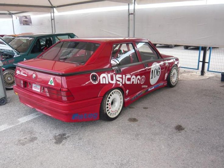 Alfa Romeo 75 ΑutoDelta 3.0L, about 300 HP. Nothing less, always more!
