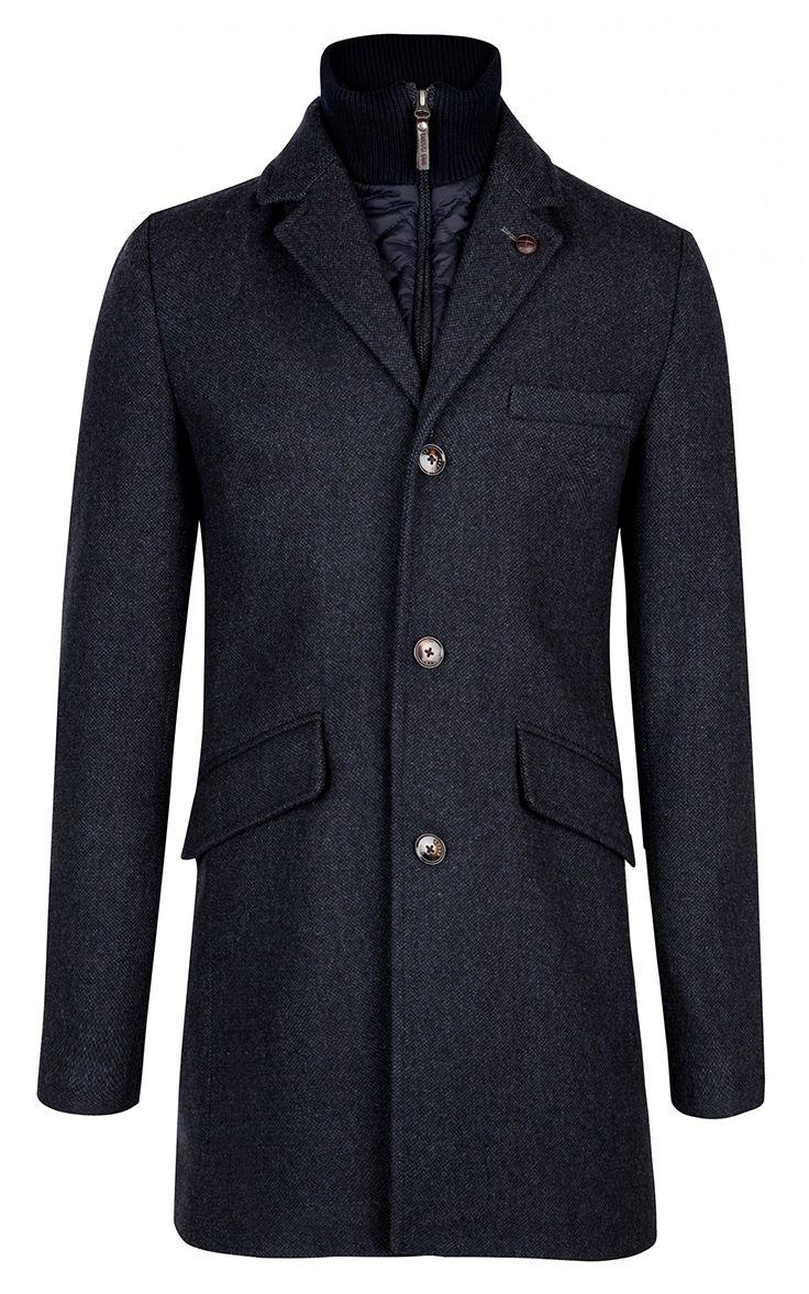 $598 / Ted Baker London / Fozain Wool Coat