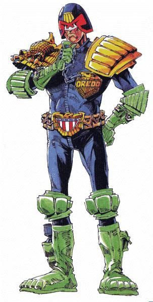 Judge Dredd by Ian Gibson