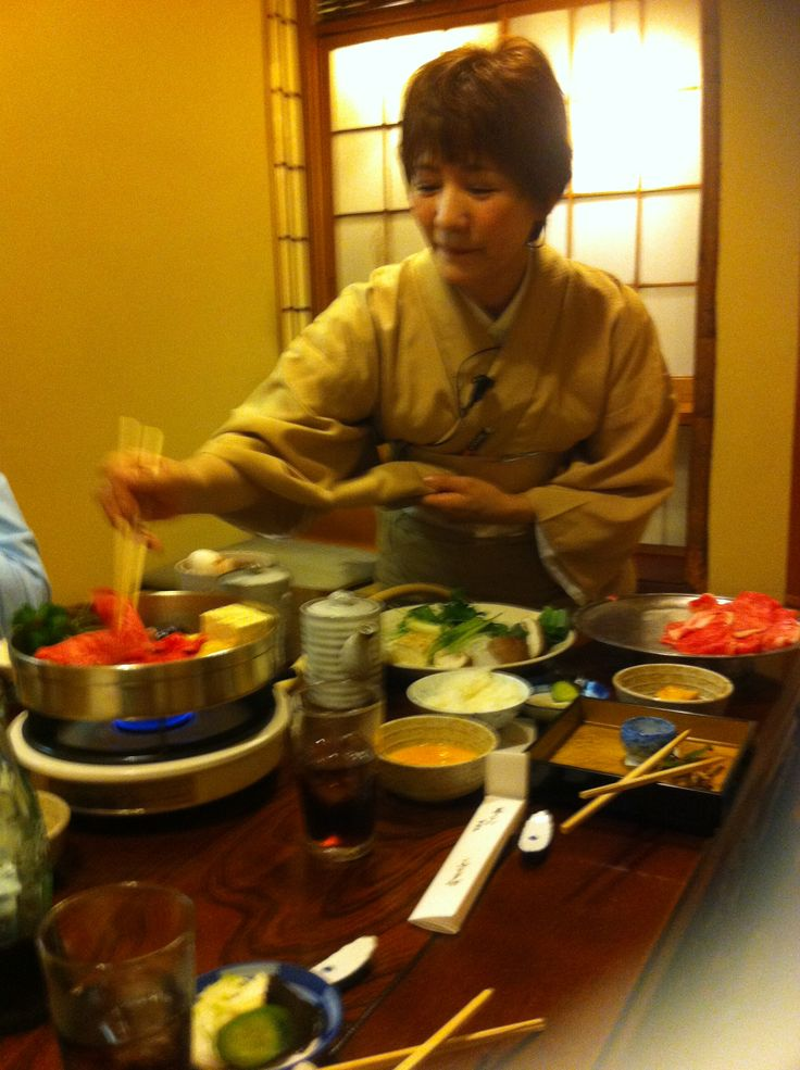 Waiting for Sukiyaki... Eat like a Local in Osaka, Japan