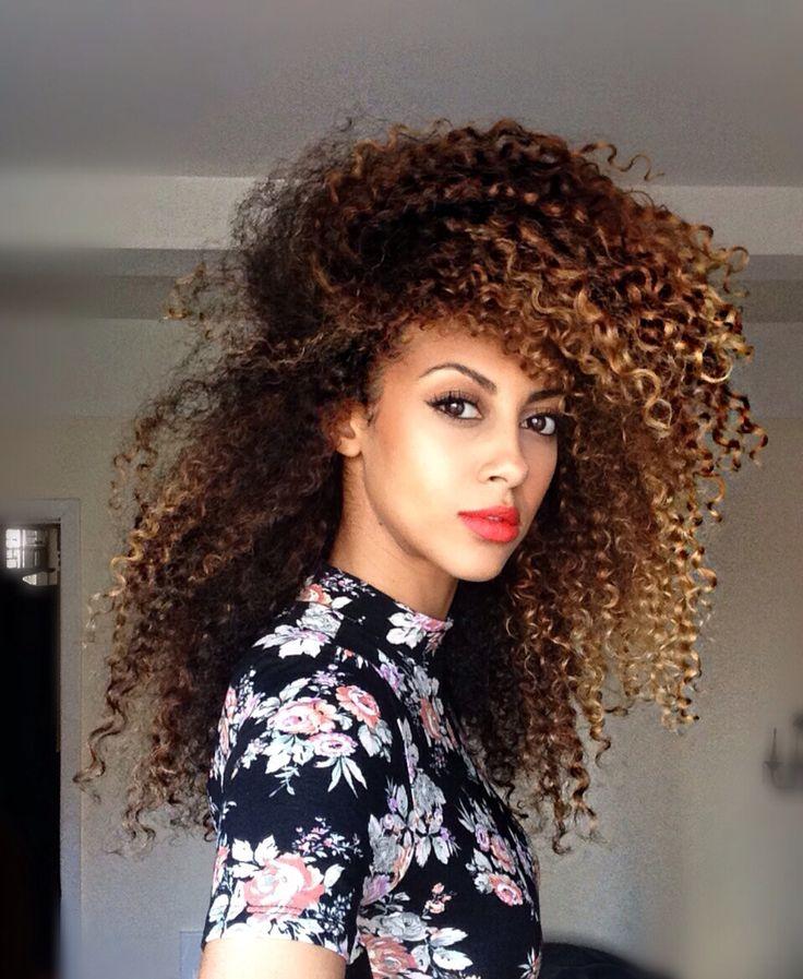 Vintage wash n go curly hair