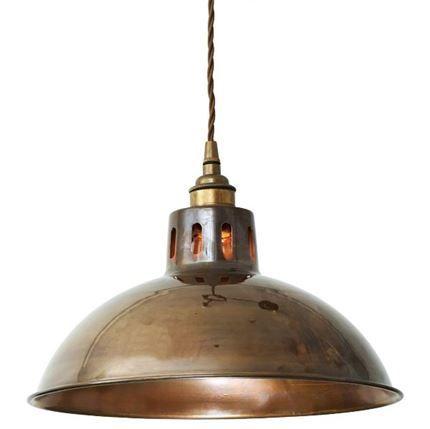 Show details for Paris Vintage Brass Pendant Light
