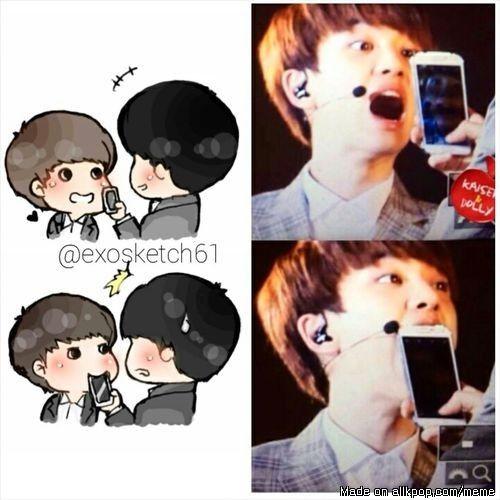 kyungsoo is cutess guy in kpop world   allkpop Meme Center