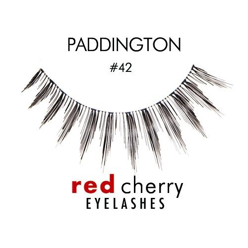 Favourite lashes: Red Cherry #42 -  Paddington
