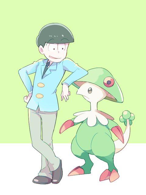 「ポケ×松」/「may」の漫画 [pixiv]