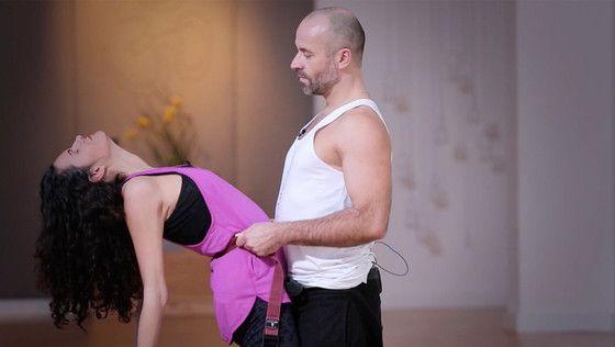"""Ich habe gerade das YogaEasy.de-Video """"Partneryoga für mehr Respekt und Vertrauen"""" geübt und fühle mich wunderbar."""