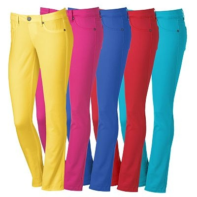 Colorful pants from Kohl's