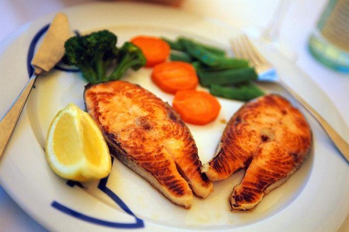 Диета на рыбе фото