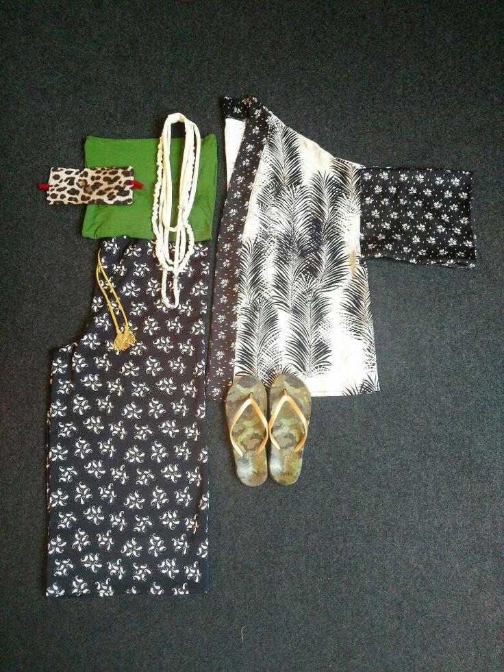 Pijama kimono corto