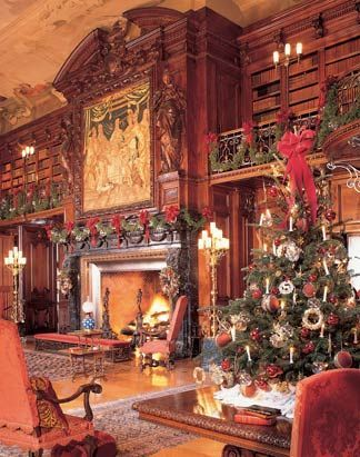 Biltmore library's large allegorical figures carved into the walnut overmantel by sculptor Karl Bitter. http://writerlysam.com/2014/04/18/architects-of-illusion-echoes-of-olympus-1-pythia/