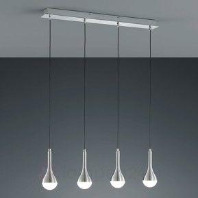 Drop - langwerpige LED hanglamp, 4 lichtbronnen veilig & makkelijk online bestellen op lampen24.nl