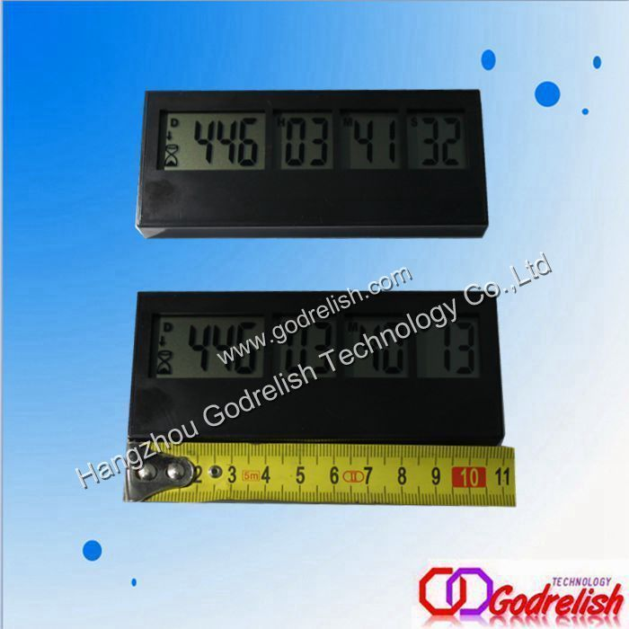 Durable High Quality With 9 Digits Lcd Countdown Clock Timer