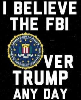 "Not too long ago Former FBI Director Comey and the FBI were heroes to the Republicans. Hillary Clinton might be president if Comey hadn't sent a letter to Congress on Oct. 28, 2016 that said the FBI had ""learned of the existence of emails that appear to be pertinent to the investigation"" into the private email server that Clinton used as Secretary of State. The news halved Clinton's lead in the polls. So what happened to their trust in the FBI? #trump #notmypresident #republican #republicans"