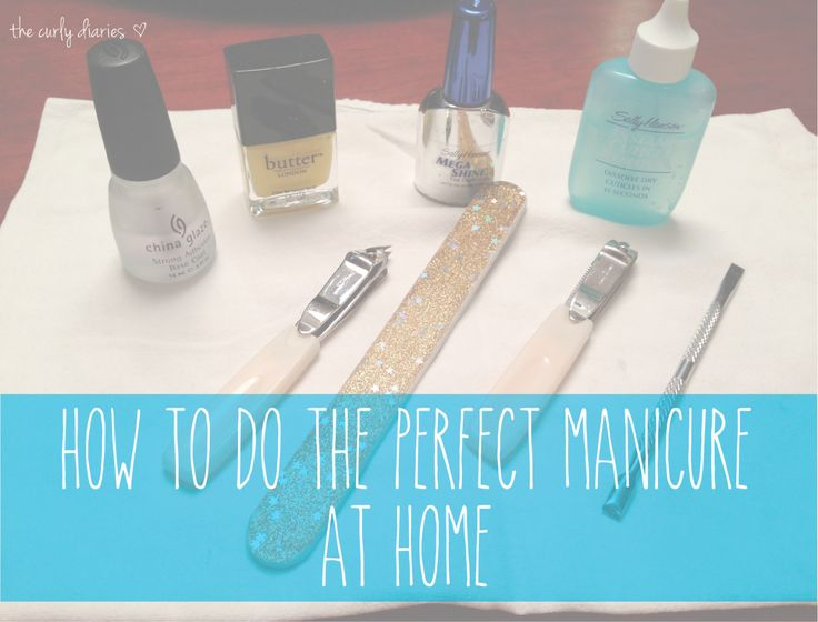 An Easy Guide On How To Do The Perfect Manicure At Home! Never Pay For A  Manicure Again With These Easy Steps And Essential Tools!