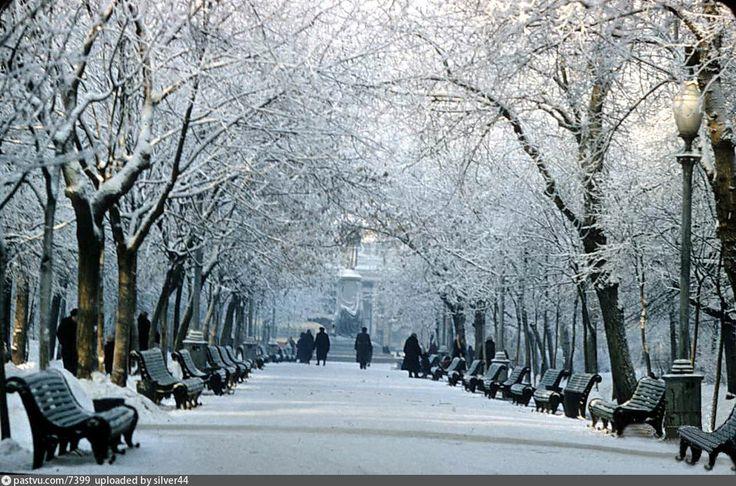 Картинки по запросу чистопрудный бульвар зимой