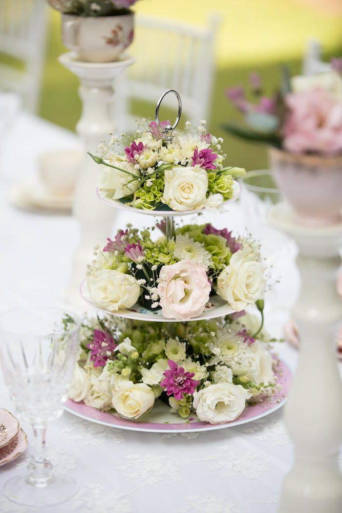 Best tea party centerpieces ideas on pinterest