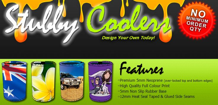 """Using our New """"Design Your Own"""" online software. It hasn't been simpler to produce your own printed custom stubby holders and stubby coolers. They May be built to satisfy for any occasion including birthdays, weddings, promotional events and others. Easily add images, pictures and inscription to your product while viewing your design instantly on-line. >> stubby coolers --> http://design-your-own-stubby-holders.com.au/"""