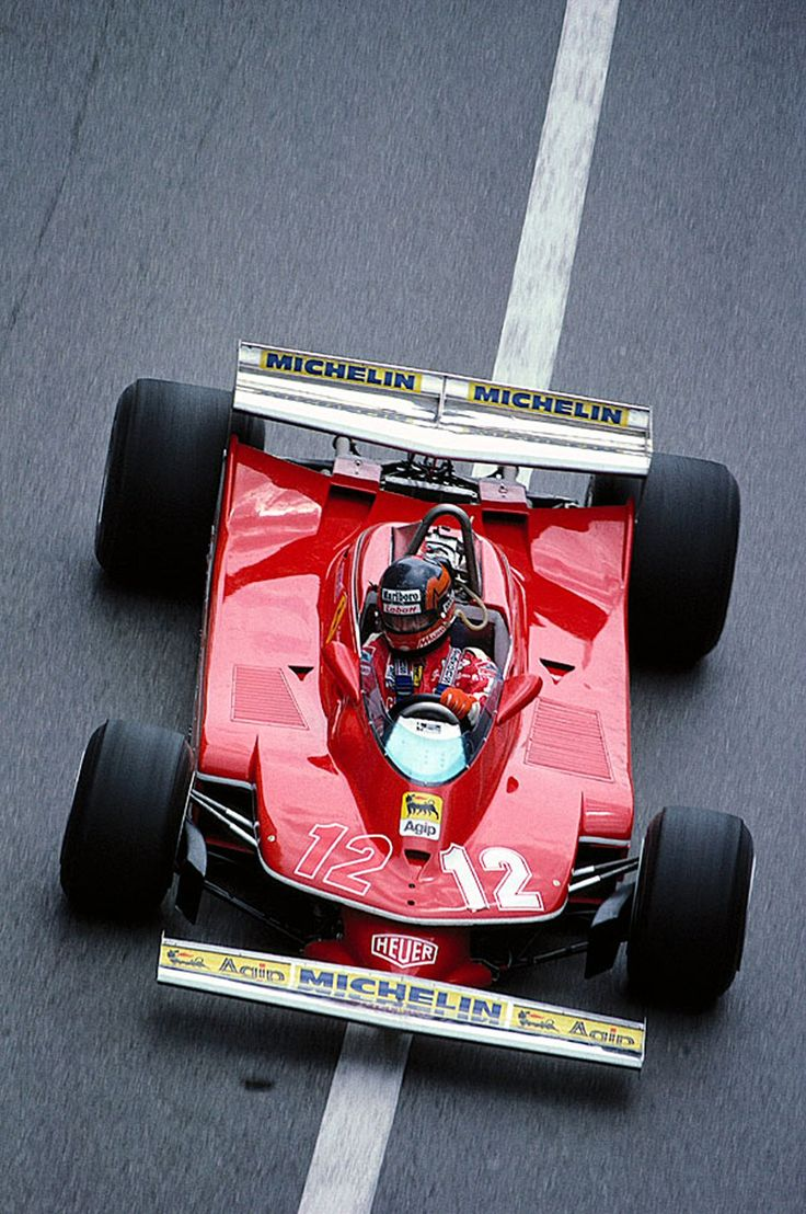 Gilles Villeneuve's Ferrari 312T4 at the Monaco Grand Prix (1979)