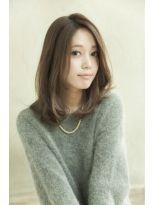 【Un ami】 大人気 大人かわいい 内巻きヘア ブチ