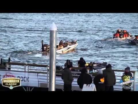 2015 Bassmaster Classic Practice day Blastoff on Lake Hartwell