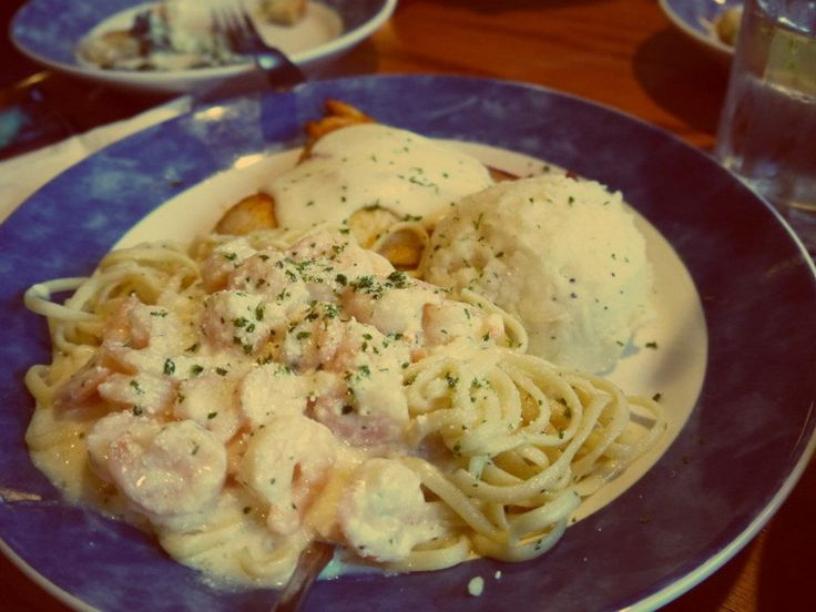Red Lobster Crab Alfredo