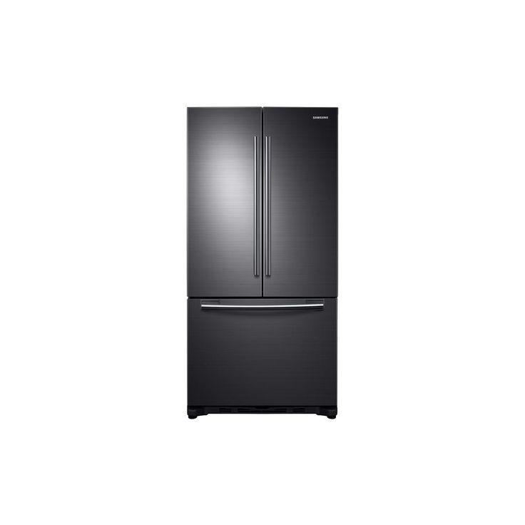 haier 28 in w 15 cu ft french door refrigerator in stainless steel. w 17.5 cu. ft. french door refrigerator in black stainless haier 28 15 cu ft steel .