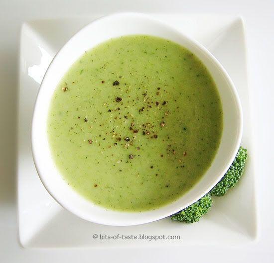 Broccoli Potato soup - dairy free!